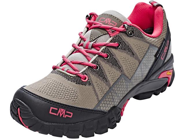 CMP Campagnolo Tauri Low WP - Calzado Mujer - gris/rosa